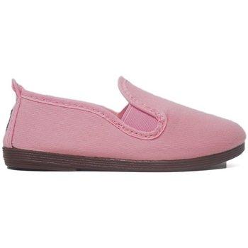 Zapatos Niña Pantuflas para bebé Javer Zapatillas Kunfú  55 Rosa Rosa