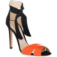 Zapatos Mujer Sandalias Gianni Marra NAPPA ARANCIO Rosso