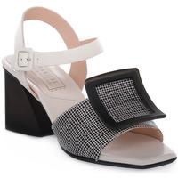 Zapatos Mujer Sandalias Hispanitas PRAGA SAFFIANO Beige