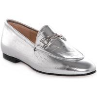 Zapatos Mujer Mocasín Priv Lab LAMINATO ARGENTO Grigio