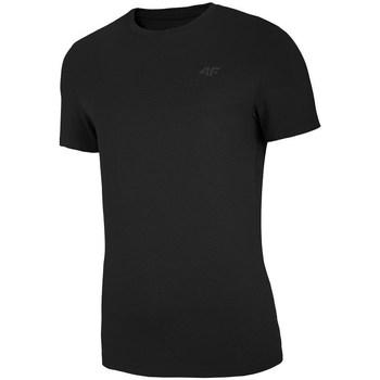 textil Hombre camisetas manga corta 4F TSM003 Negro