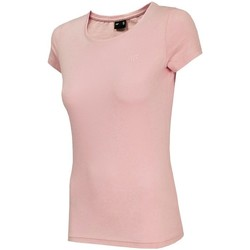 textil Mujer camisetas manga corta 4F TSD001 Rosa