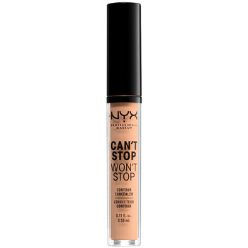 Belleza Mujer Antiarrugas & correctores Nyx Can't Stop Won't Stop Contour Concealer natural