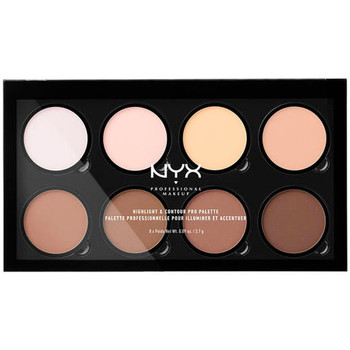 Belleza Mujer Iluminador  Nyx Highlight & Contour Pro Palette 8x2,7 Gr