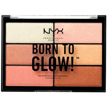 Belleza Mujer Iluminador  Nyx Born To Glow! Highlighting Palette