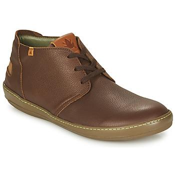 Zapatos Hombre Botas de caña baja El Naturalista METEO Marrón