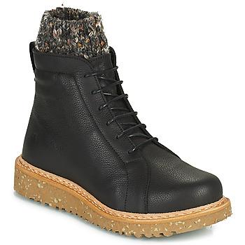 Zapatos Mujer Botas de caña baja El Naturalista PIZARRA Negro