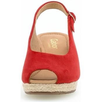 Gabor 46.580/48T35-2.5 Rojo - Zapatos Alpargatas Mujer 12500