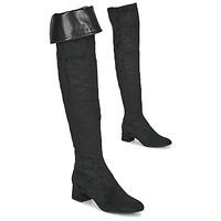Zapatos Mujer Botas a la rodilla Unisa LUKAS Negro