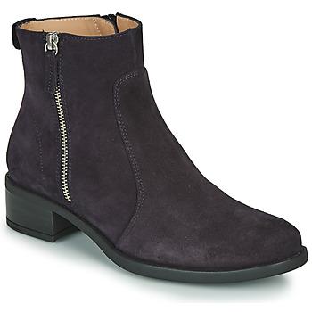 Zapatos Mujer Botas de caña baja Unisa EBRAS Marino