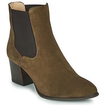 Zapatos Mujer Botines Unisa MAZE Kaki