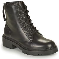 Zapatos Mujer Botas de caña baja Unisa JISPER Negro