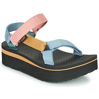 Zapatos Mujer Sandalias Teva FLATFORM UNIVERSAL Multicolor