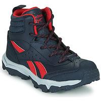 Zapatos Niño Zapatillas bajas Reebok Sport RUGGED RUNNER MID Negro / Rojo