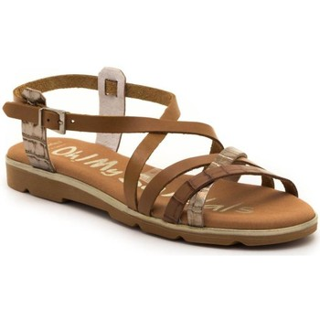 Zapatos Mujer Sandalias Oh My Sandals 4653 Marrón