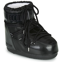 Zapatos Mujer Botas de nieve Moon Boot MOON BOOT CLASSIC LOW GLANCE Negro