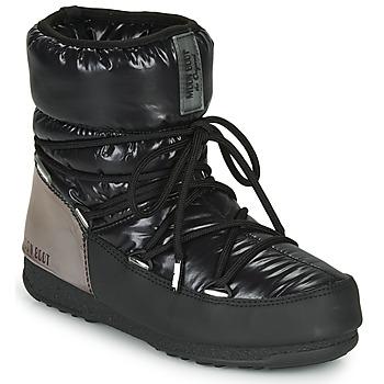 Zapatos Mujer Botas de nieve Moon Boot MOON BOOT LOW ASPEN WP Negro