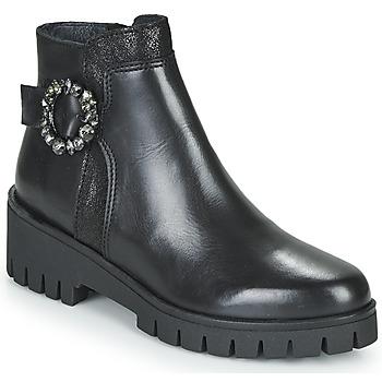 Zapatos Mujer Botas de caña baja Myma KAOLI Negro