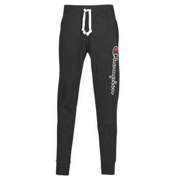 textil Hombre Pantalones de chándal Champion HEAVY COMBED COTTON Negro