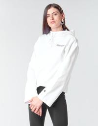 textil Mujer Sudaderas Champion HEAVY COMBED COTTON FLEECE Blanco