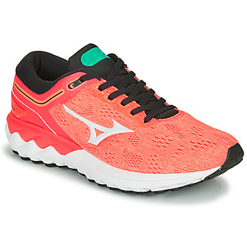 Zapatos Mujer Running / trail Mizuno WAVE SKY RISE Coral