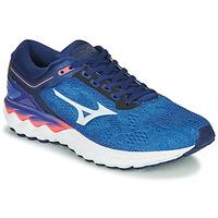 Zapatos Hombre Running / trail Mizuno WAVE SKY RISE Azul