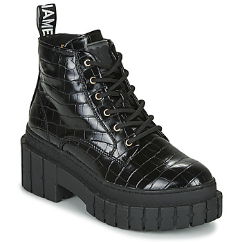 Zapatos Mujer Botas de caña baja No Name KROSS LOW BOOTS Negro