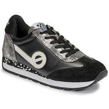 Zapatos Mujer Zapatillas bajas No Name CITY RUN JOGGER Negro / Blanco