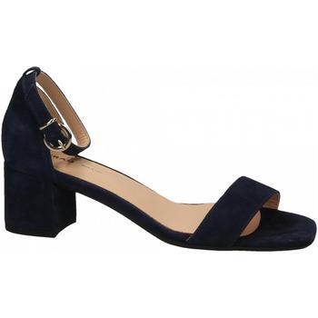 Zapatos Mujer Sandalias Frau CAMOSCIO navy
