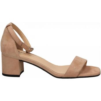 Zapatos Mujer Sandalias Frau CAMOSCIO nude
