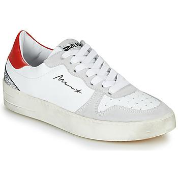 Zapatos Mujer Zapatillas bajas Meline STRA5007 Blanco / Rojo