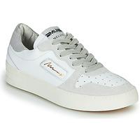 Zapatos Mujer Zapatillas bajas Meline STRA-A-1060 Blanco / Beige