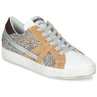 Zapatos Mujer Zapatillas bajas Meline IN1344 Blanco / Beige / Oro