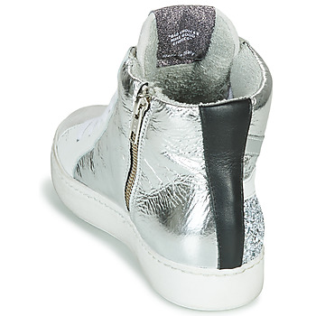 Meline IN1363 Blanco / Plateado - Envío gratis |  - Zapatos Deportivas altas Mujer 11900