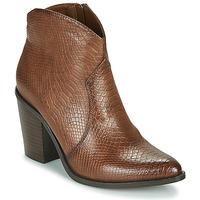 Zapatos Mujer Botines MTNG 50187-C50166 Marrón