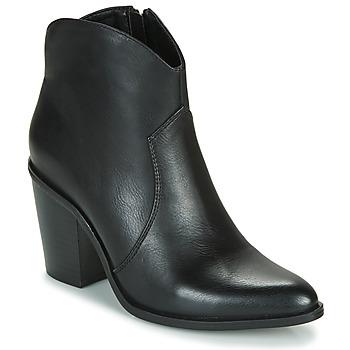 Zapatos Mujer Botines MTNG 50187-C50074 Negro