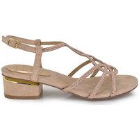 Zapatos Mujer Sandalias Exé Shoes SANDALIA TACÓN BAJO CON BRILLO 8732-2 Color Rosa