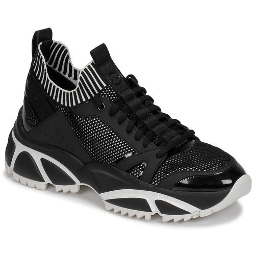 Zapatos Hombre Zapatillas bajas MICHAEL Michael Kors LUCAS Negro / Blanco