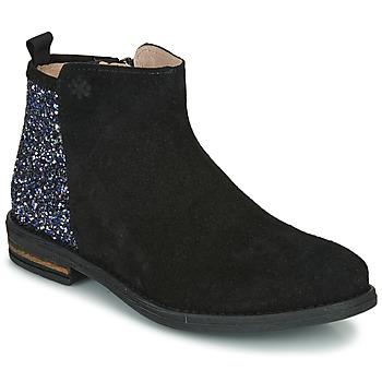 Zapatos Niña Botas de caña baja Acebo's 8035-NEGRO-J Negro