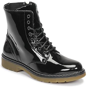Zapatos Niña Botas de caña baja Bullboxer AOL501E6LGBKPT Negro