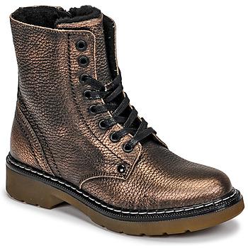 Zapatos Niña Botas de caña baja Bullboxer AOL501E6LGCHAM Bronce