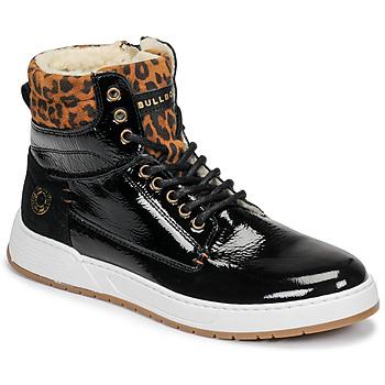 Zapatos Niña Zapatillas altas Bullboxer AOF503E6L-BLCK Negro