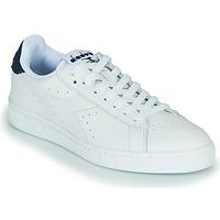 Zapatos Zapatillas bajas Diadora GAME L LOW OPTICAL Blanco / Azul