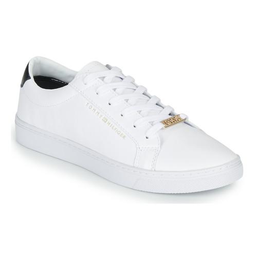 Zapatos Mujer Zapatillas bajas Tommy Hilfiger CUPSOLE SNEAKER Blanco