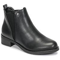 Zapatos Mujer Botas de caña baja Les Petites Bombes AKINA Negro