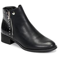 Zapatos Mujer Botas de caña baja Les Petites Bombes ALINE Negro