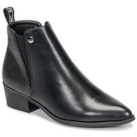 Zapatos Mujer Botas de caña baja Les Petites Bombes ANTONELLA Negro