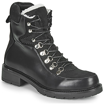 Zapatos Mujer Botas de caña baja Les Petites Bombes ALANNA Negro