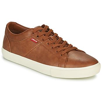 Zapatos Hombre Zapatillas bajas Levi's WOODWARD Marrón