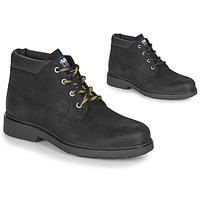Zapatos Hombre Botas de caña baja Tommy Jeans LOW CUT TOMMY JEANS BOOT Negro
